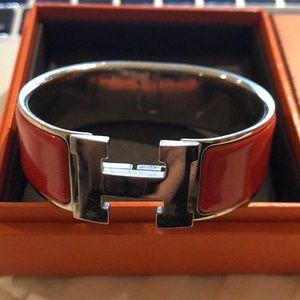Hermès click clac H bracelet